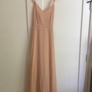 3754b206275f Lulu's Dresses | Lulus Meteoric Rise Blush Maxi Dress Medium | Poshmark